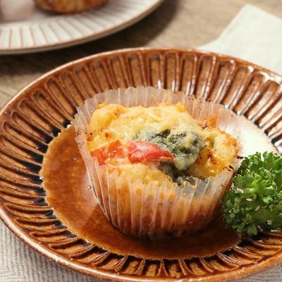 カラフル野菜のお食事マフィン