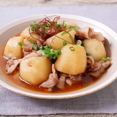 豚バラ肉とじゃがいものピリ辛煮