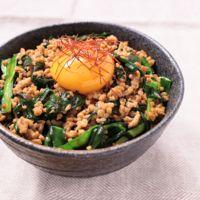 ニラ ひき肉 卵