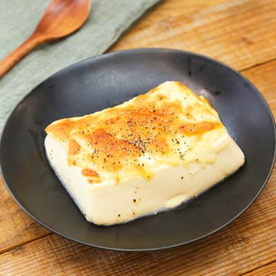 オーブントースターで 焼きチーズ豆腐
