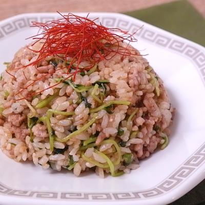 台湾風 肉豆苗チャーハン