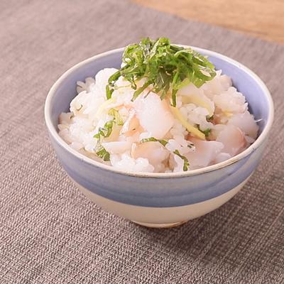 大葉香る 赤魚の混ぜご飯