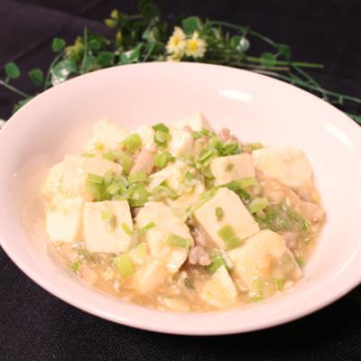 お味噌で作る簡単マーボー豆腐