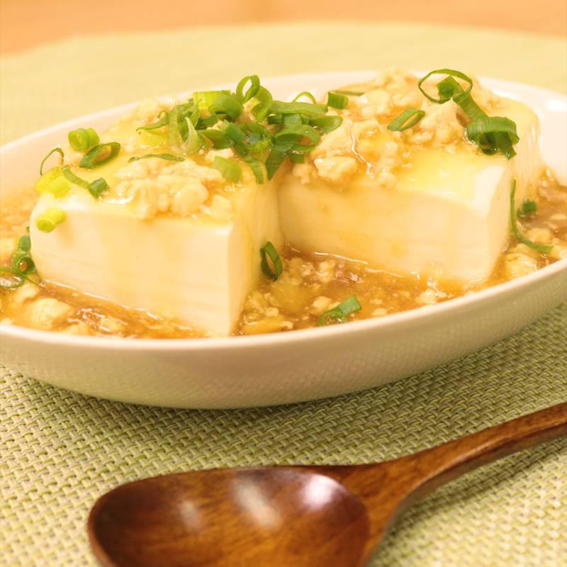 鶏 ひき肉 豆腐 レシピ