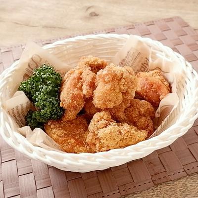 コーングリッツで鶏もも唐揚げ
