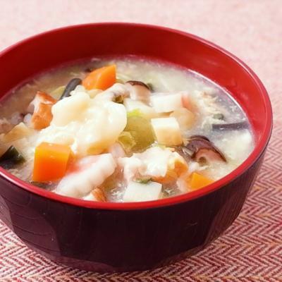 具だくさんガタタンスープ