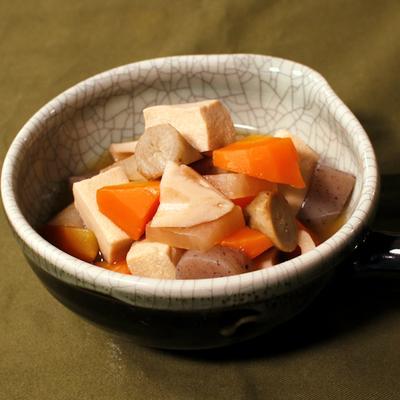 色々使える!根菜と高野豆腐の煮物