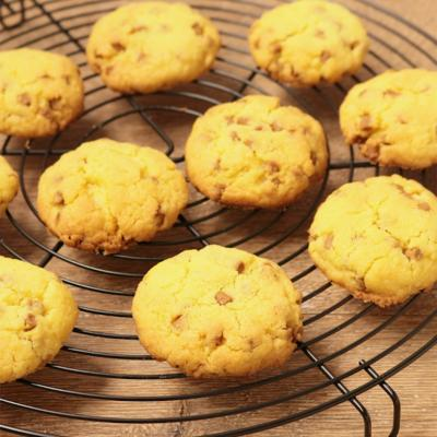 粒ジャムでドロップクッキー