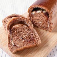 パウンドケーキ型で作る チョコ食パン