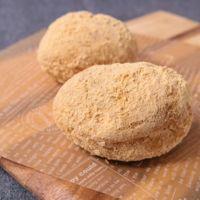 ロールパンできな粉揚げパン