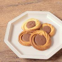 チョコレートの絞り出しクッキー