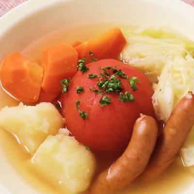 丸ごとトマトポトフ