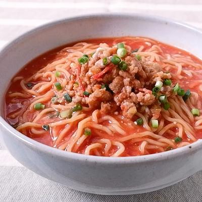 旨味たっぷり 肉味噌トマトラーメン