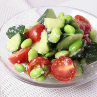 塩麹だけで絶品 きゅうりとトマトの和え物