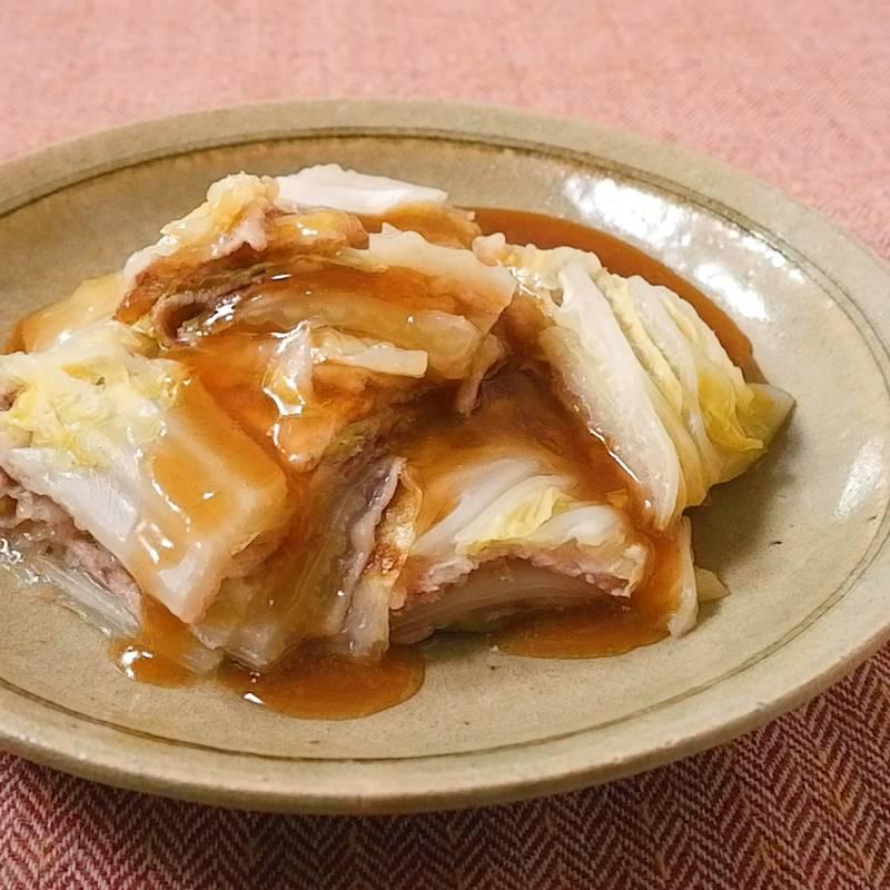 と の 白菜 うま煮 豚肉 白菜と豚肉のうま煮 レシピ・作り方