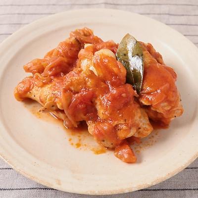 チキンとトマトのカポナータ