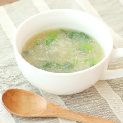 カブの丸ごとすりおろしスープ