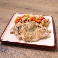 フライパンで セージ香る鶏肉のロースト