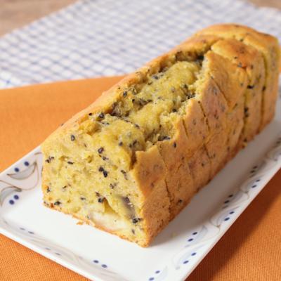 モッツァレラさつまいもパウンドケーキ
