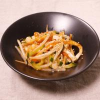 レンジでナムル風ピリ辛サラダ