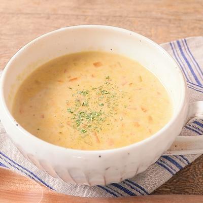 にんじんのミルクカレースープ