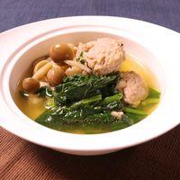 鶏だんごが美味しい 中華スープ