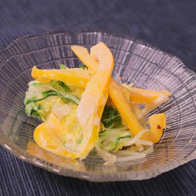 茹でて和えるだけ!白菜サラダ