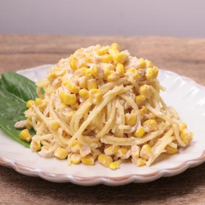 ツナとコーンのマヨサラダスパゲティ