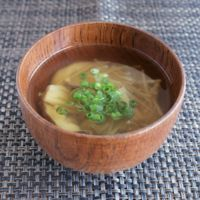 しょうがときのこのスープ