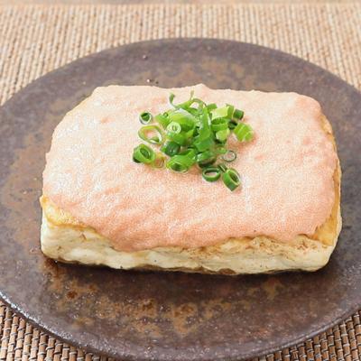 10分で作れる 明太マヨソースの豆腐ステーキ