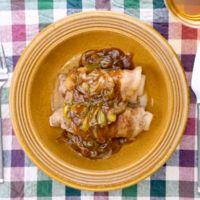 豚肉と白菜のくるくる煮