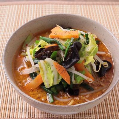 野菜たっぷり みそラーメン