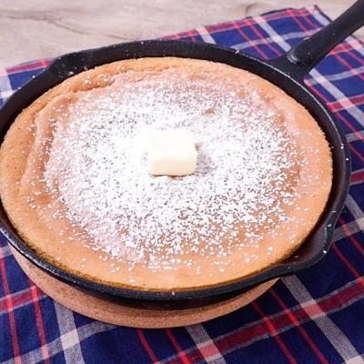 スキレットでつくる カステラパンケーキ