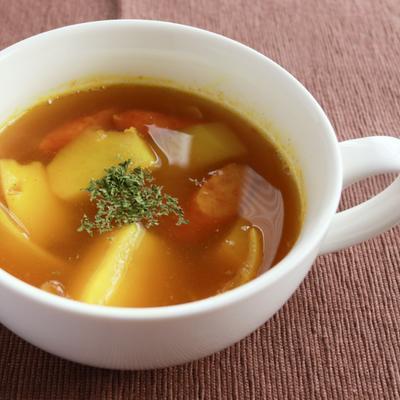 スパイシーな香り カレースープ