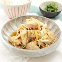 レンジで簡単 鶏むね肉の中華南蛮