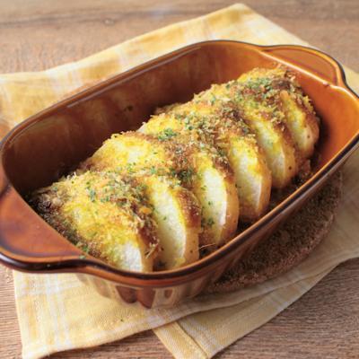 長芋のカレーマヨ焼き