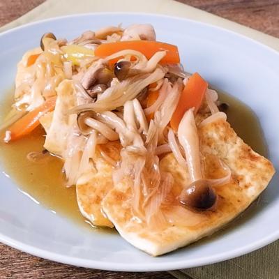 甘酢あんがおいしい 焼き豆腐