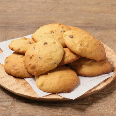 サクふわ チョコチップとピーナッツバターのクッキー