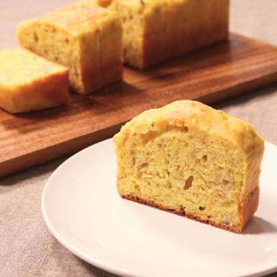 材料3つ!簡単バナナケーキ