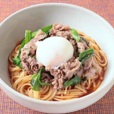 スタミナ冷やしビビン麺