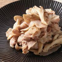 豚バラ肉ときのこの中華風炒め