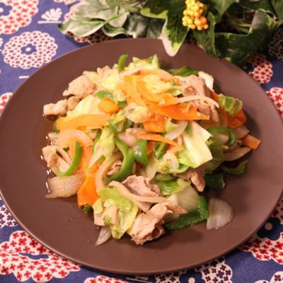 パパッと簡単 肉野菜炒め