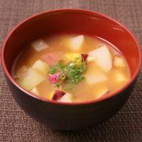 生姜とお芋のみそ汁