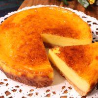超濃厚!クリームチーズ不使用!スライスチーズdeチーズケーキ