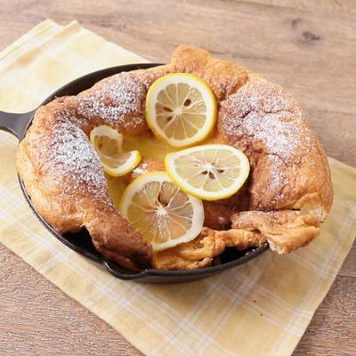 レモンソースのダッチベイビー