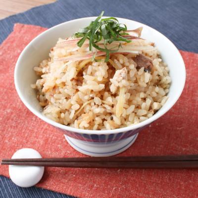 炊飯器で簡単 秋刀魚の炊き込みご飯