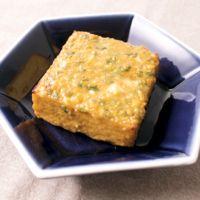 カッテージチーズ入り 厚揚げの味噌田楽