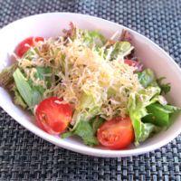 大根と水菜のじゃこサラダ
