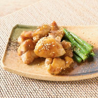 味付け簡単 鶏もも肉の照り焼き
