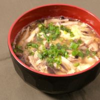 たっぷりきのこの和風スープ